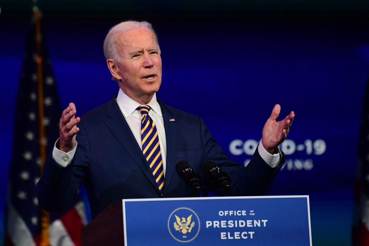 Joe Biden celebra que Donald Trump no asista a su investidura