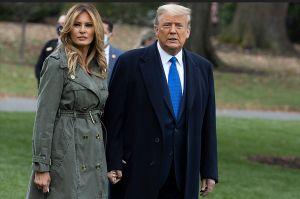 Donald Trump y su esposa Melania se vacunaron antes de abandonar la Casa Blanca