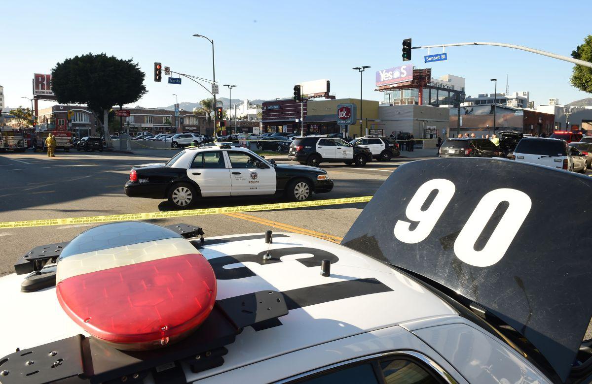 Policía en California