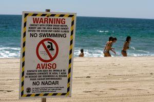 Recomiendan no bañarse, jugar o surfear en playas de Los Ángeles por contaminación tras las lluvias