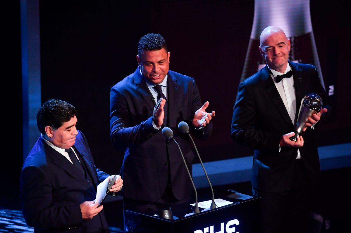 Ronaldo defiende a Maradona y pide que no se le recuerde por su vida privada