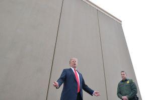 Trump logra triunfo en tribunal para el muro fronterizo