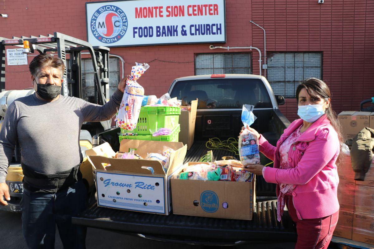 Los bancos de comida, una salvación para miles de familias