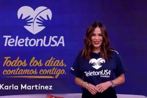 "Karla Martínez sobre TeletónUSA en pandemia: ""El reto será transmitir el amor"""