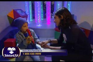 Alejandra Espinoza: Su hijo Matteo debuta como cantante en TeletónUSA