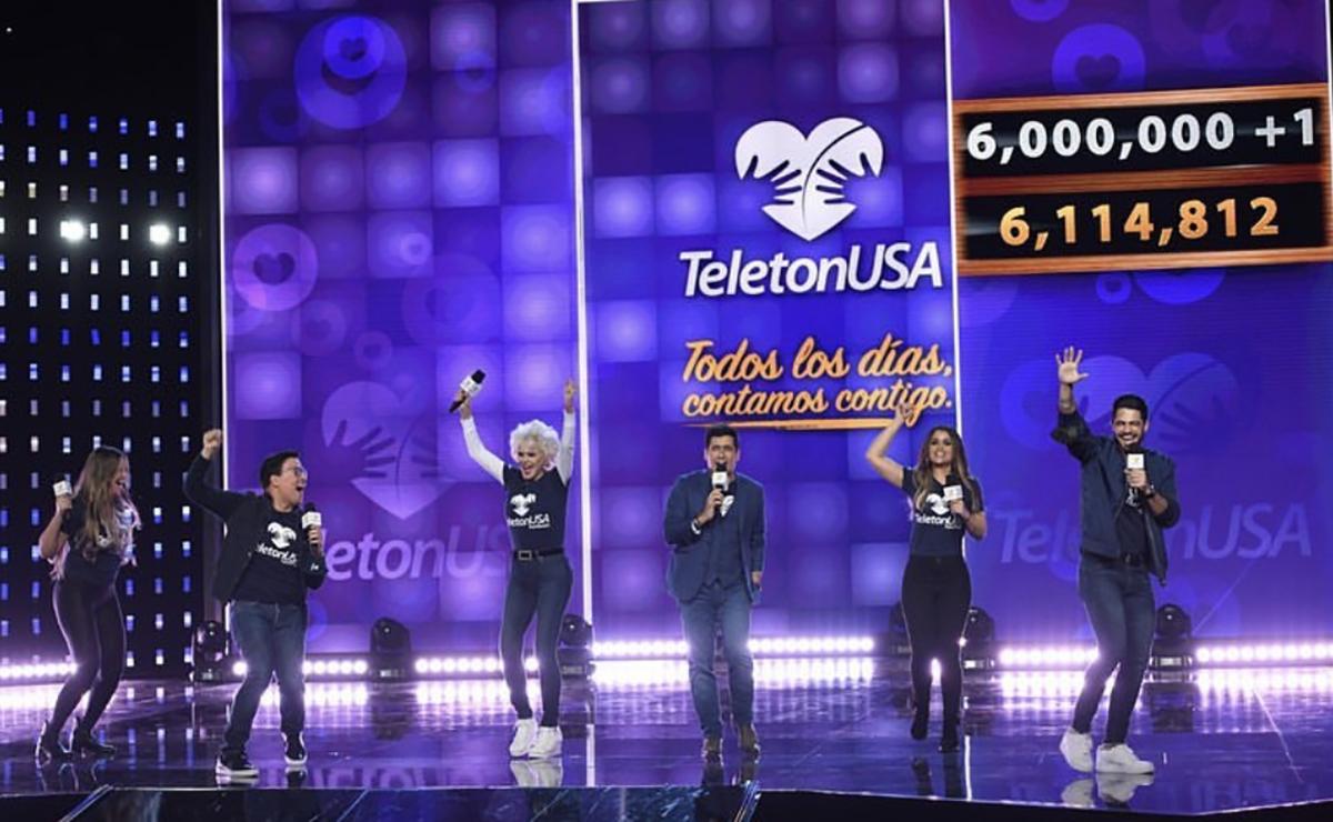 TeletónUSA 2020 superó la meta.