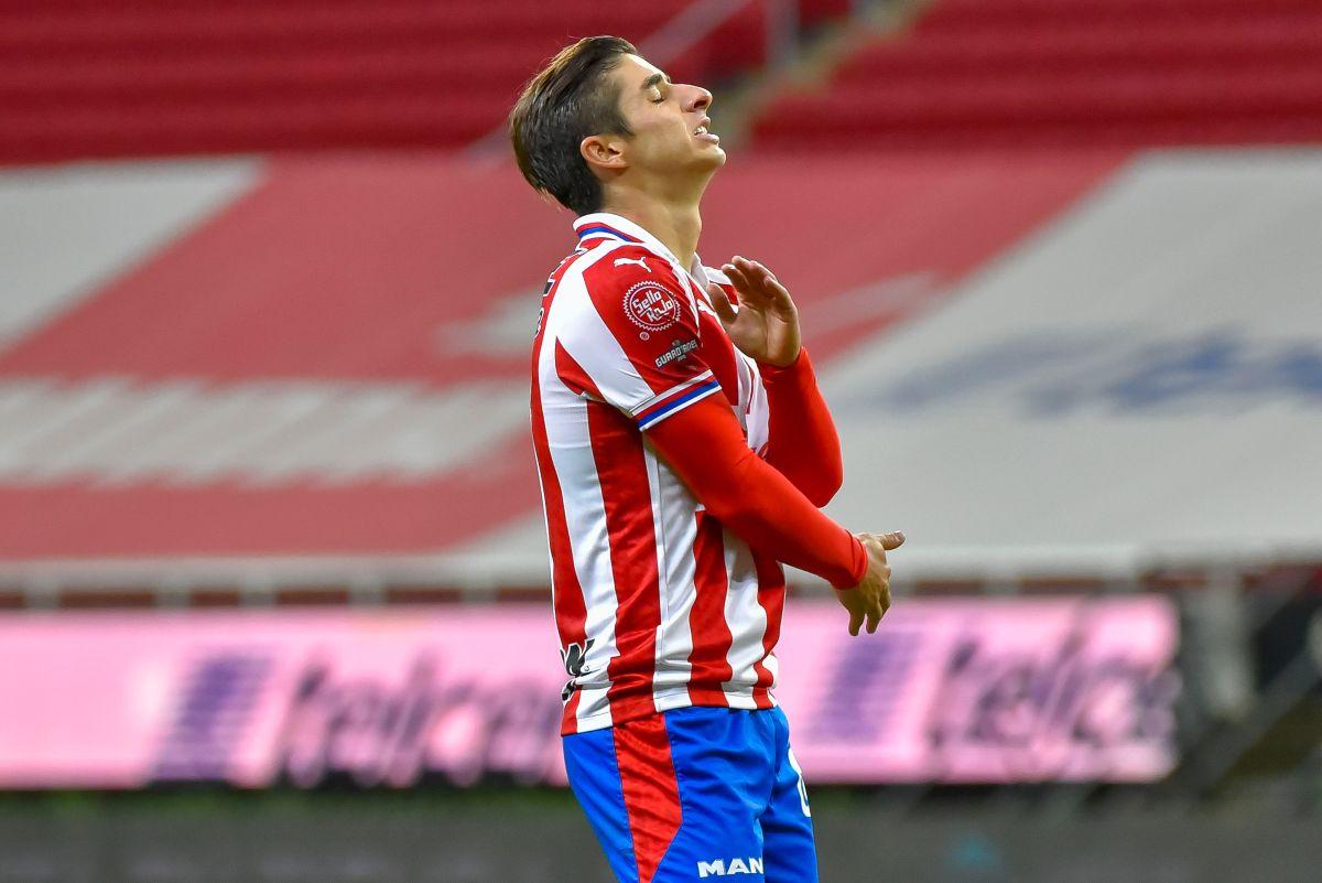 Isaac Brizuela es el jugador que tiene COVID-19 y se perdería, incluso, la final en caso de que su club avance.