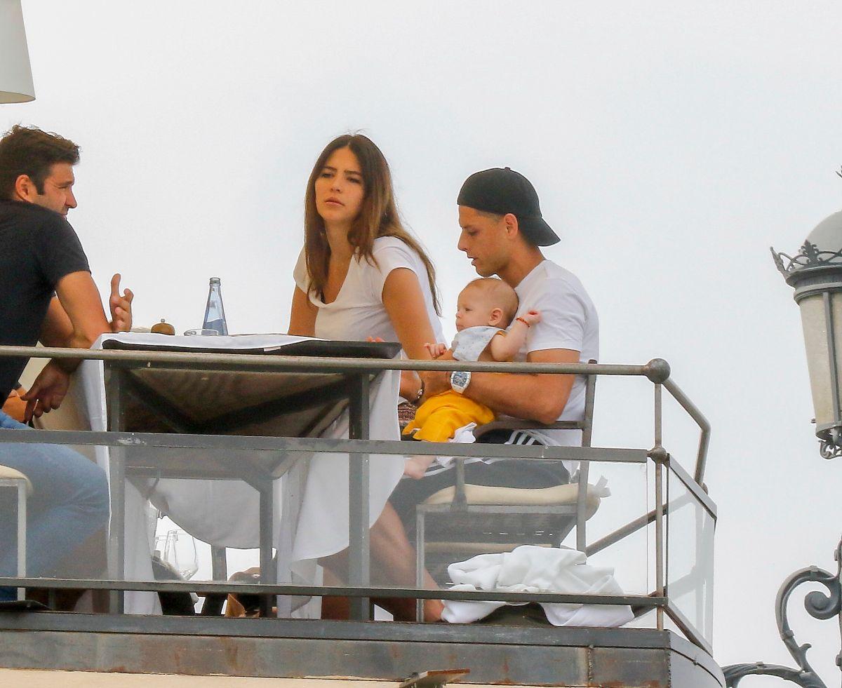Sarah Kohan ya le pidió el divorcio al 'Chicharito' Hernández pero él se aferra a la relación