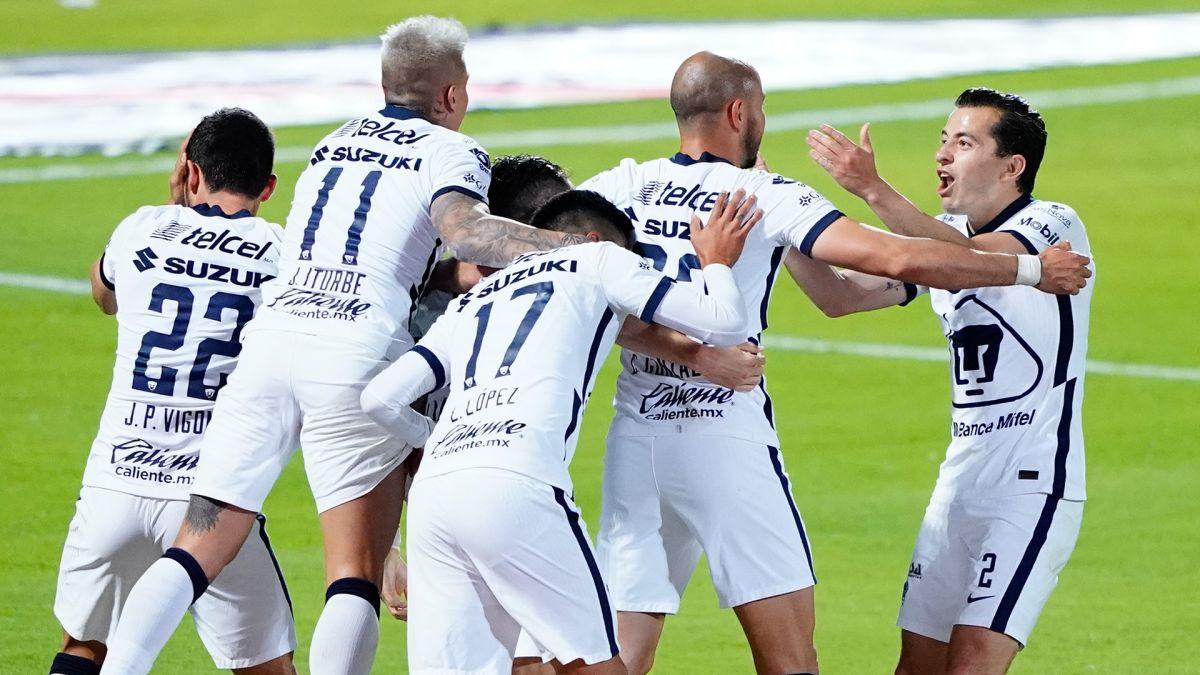 Pumas hace la remontada más histórica de la historia de la Liga MX.