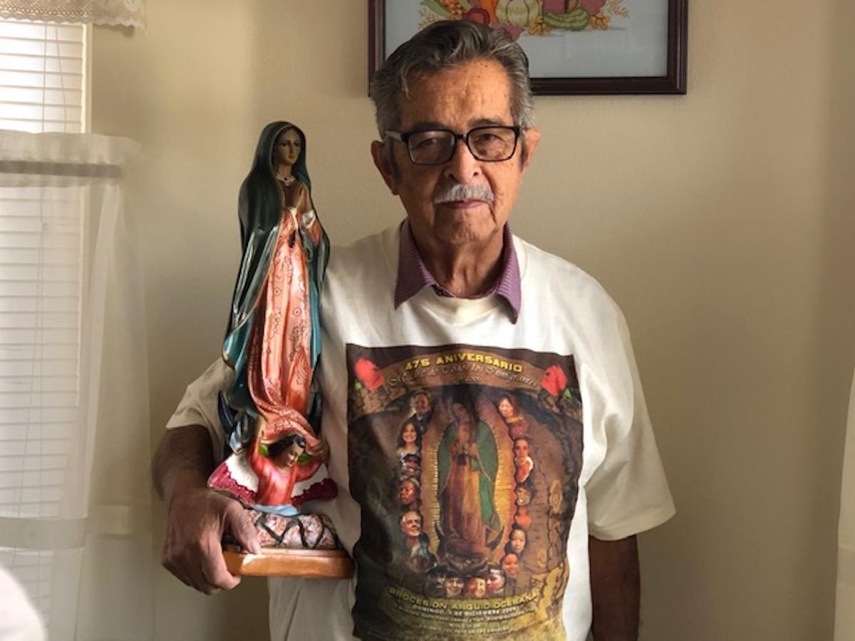 Las 'mandas' a la Virgen de Guadalupe, tradición que aviva la fe