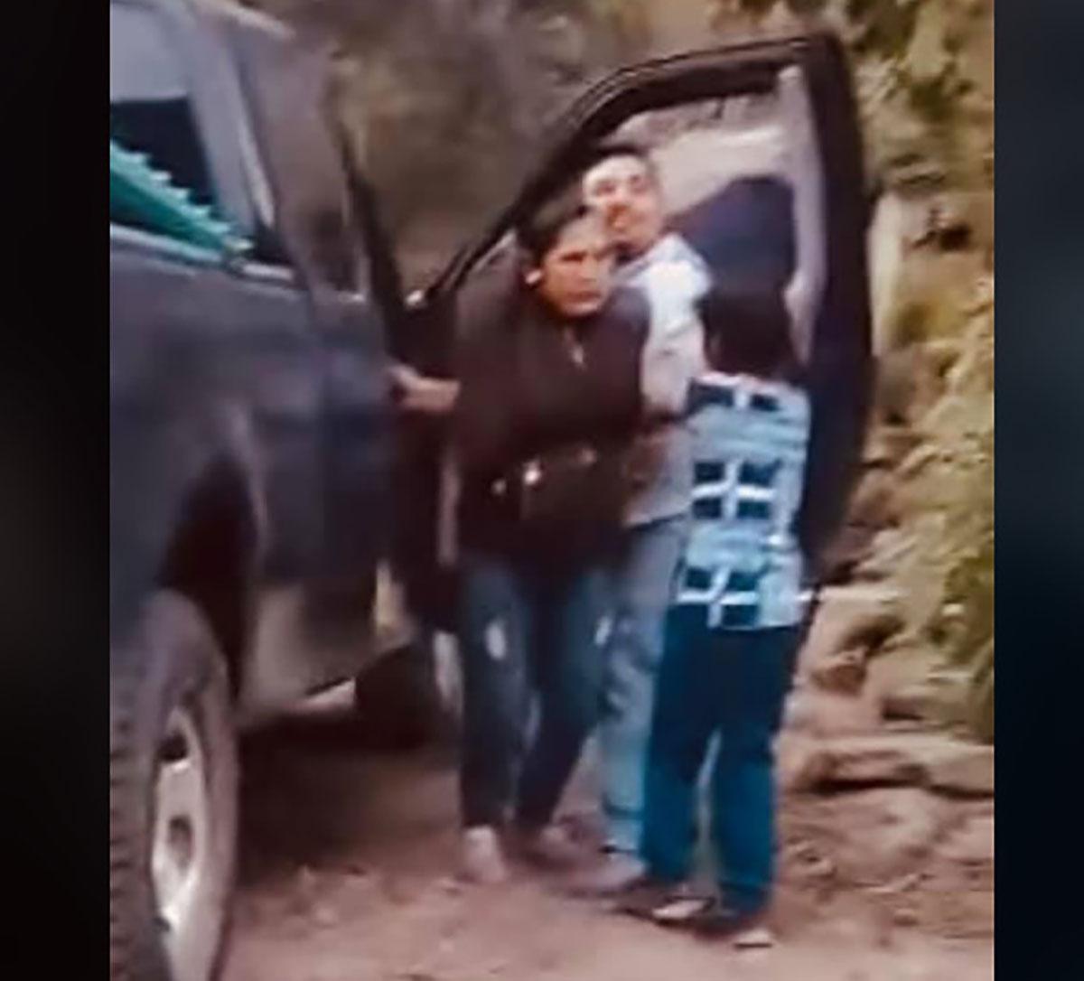 VIDEO: Niña graba momento en que secuestran a su mamá en Guerrero México