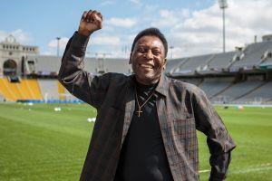 """El emotivo mensaje de Pelé tras ser vacunado contra el COVID-19: """"Hoy fue un día inolvidable"""""""