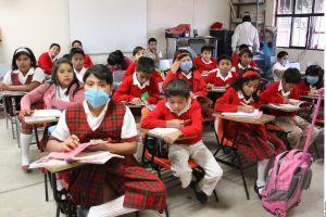 Niños en México regresarán a clases presenciales, anuncian autoridades