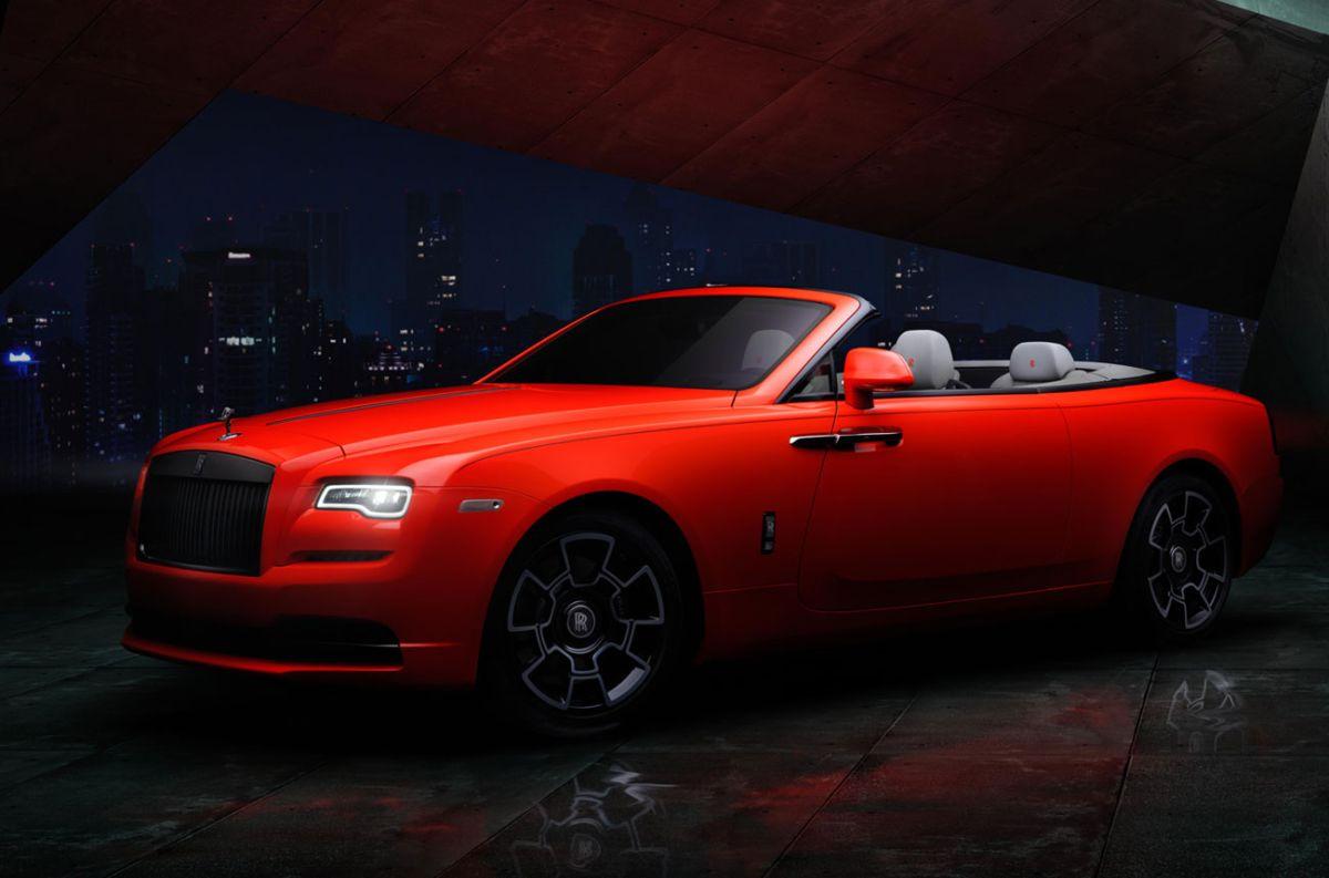Los Rolls-Royce Black Badge con tonalidades más descontracturadas