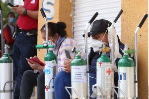"""""""No hay oxígeno"""": la escasez que asfixia a los enfermos por COVID-19 de Ciudad de México"""