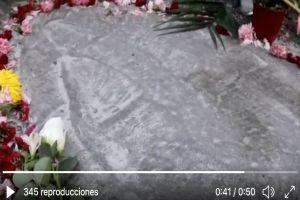 VIDEO: ¡Milagro! Aparece figura de la Virgen de Guadalupe en calle de México