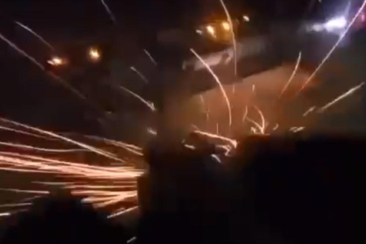 VIDEO: Momento exacto en que sicarios del CJNG balean a autoridades mexicanas