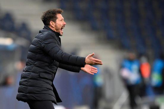 """El """"Cholo"""" Simeone, la pasión futbolística personificada."""
