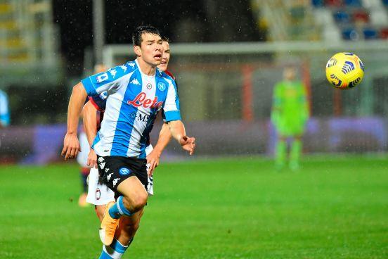 Hirving Lozano es pieza fundamental en el buen paso del Napoli.