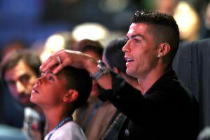 A Cristiano Ronaldo no le molesta que su hijo no quiera ser futbolista, pero odia sus hábitos alimenticios