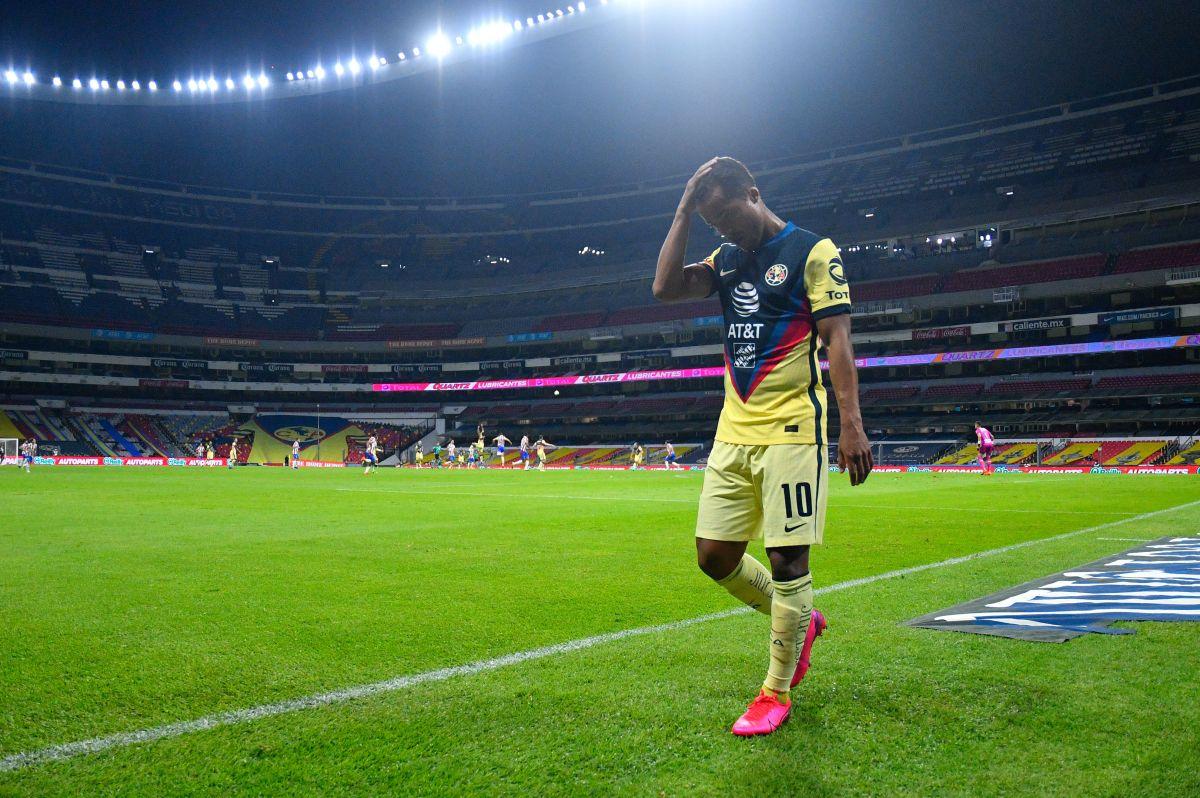 Giovani dos Santos y dos jugadores más no entran en la lista de América para la Concachampions
