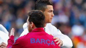 VIDEO: Messi y Cristiano volvieron a abrazarse en la cancha 947 días después
