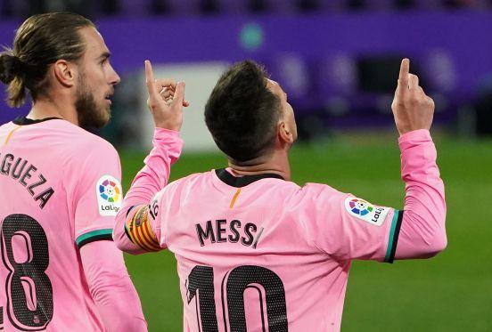 Leo Messi, la máxima figura en la historia del Barcelona.