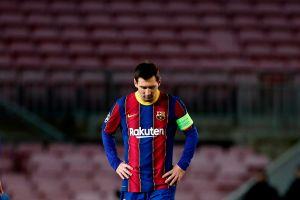 La crisis sigue y Cristiano no perdona: Barcelona fue goleado en casa y perdió el primer lugar de su grupo