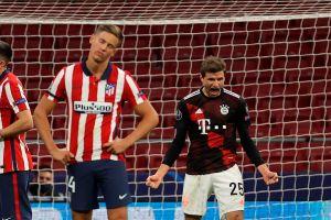 """Le arrebataron el triunfo al """"Cholo"""": Bayern Múnich le robó un punto de última hora al Atlético de Madrid"""