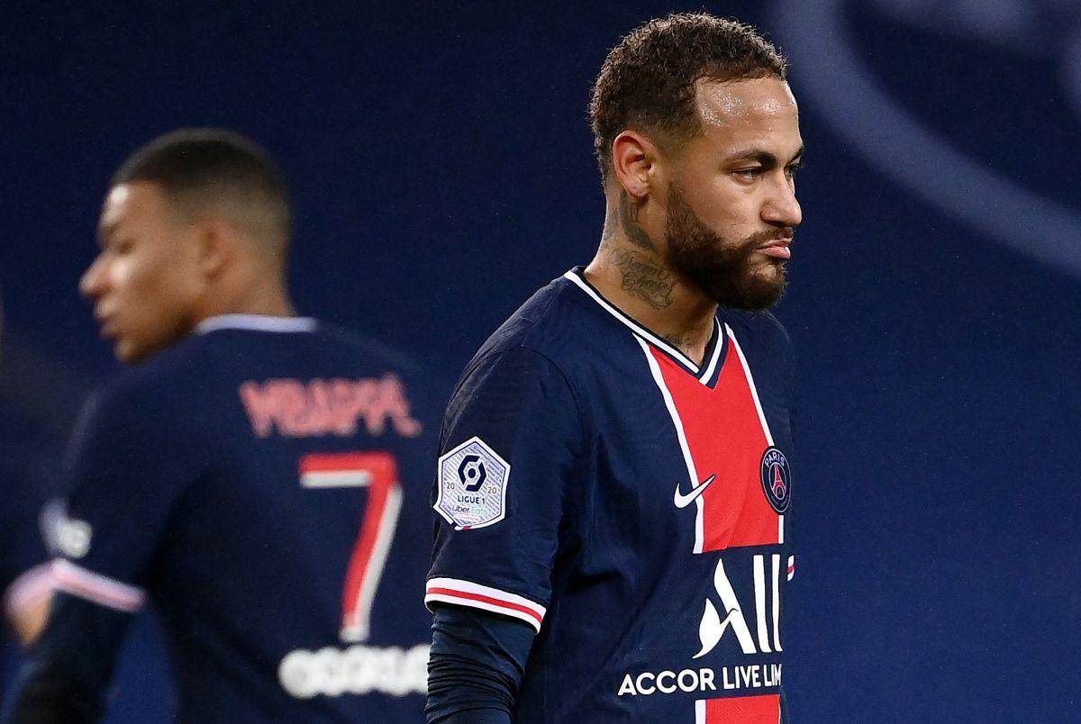 Dos partidos de sanción para Neymar por conducta inapropiada en partido con el Lille
