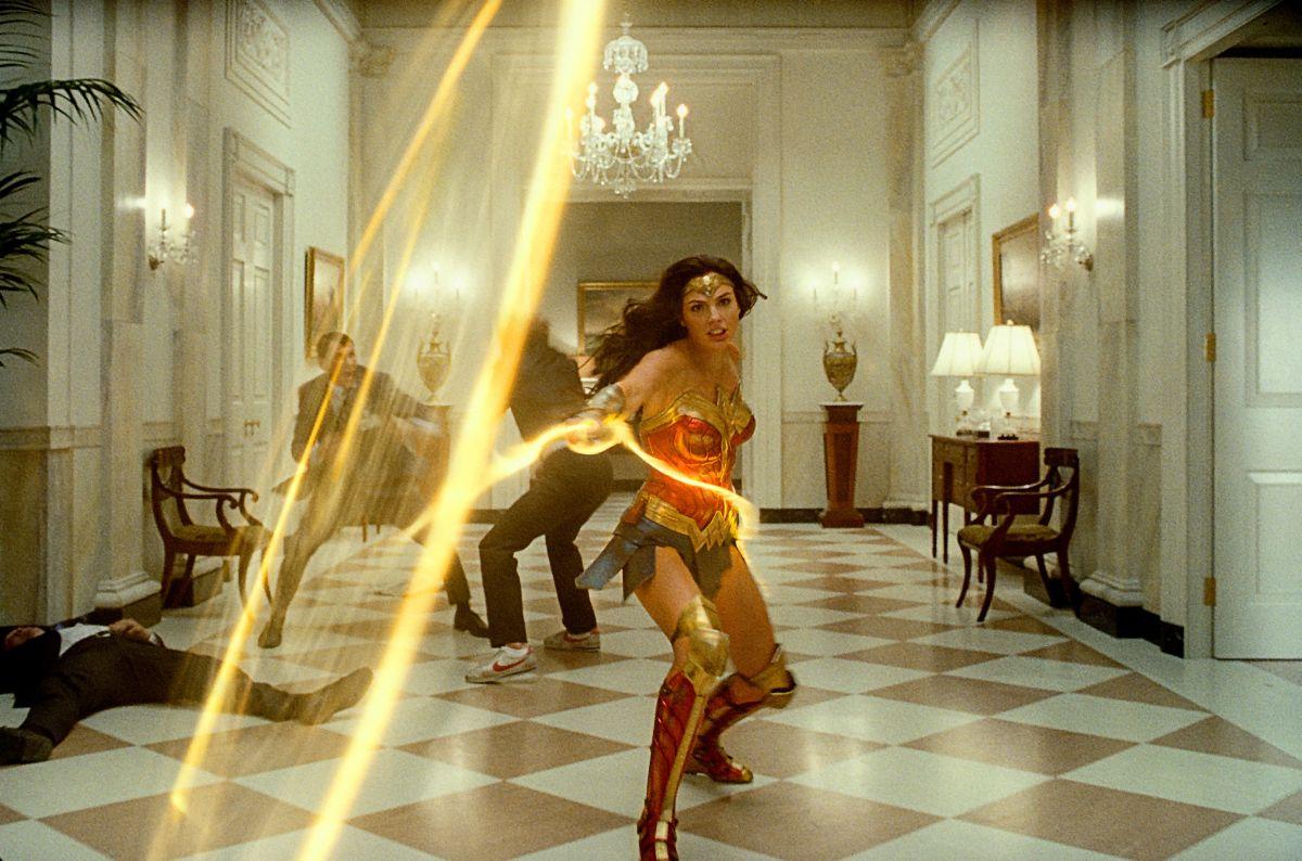 Wonder Woman es una escena que transcurre en la Casa Blanca.