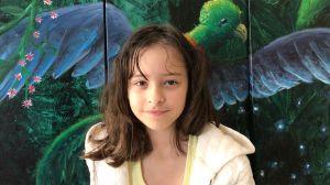 Aria Luna, la artista de 10 años que está mejorando el mundo