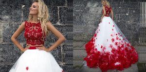 Los mejores y más modernos vestidos de dos piezas para usar en tus quinceaños