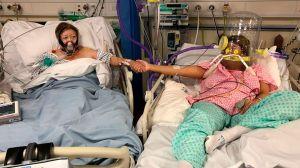 La foto de una hija y su madre antes de morir por COVID-19 (y por qué la hija decidió difundirla)