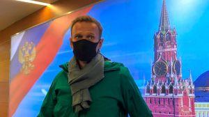 Alexei Navalny: el líder opositor ruso es detenido tras aterrizar en Moscú, 5 meses después de su envenenamiento