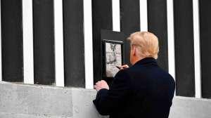 Cuánto se construyó del muro de Trump en la frontera con México que Biden mandó parar en el primer día de su mandato