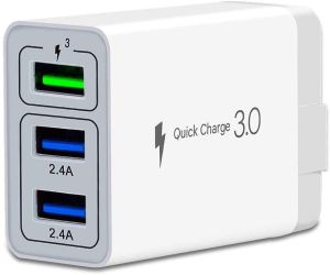 Charge more than 3 cell phones at the same time with these USB chargers