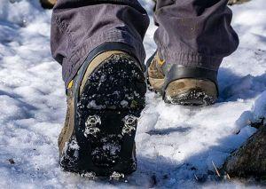 Las mejores cadenas y accesorios de zapatos para caminar en la nieve con seguridad