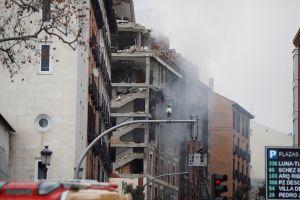 Explosión en edificio residencial en Madrid España deja varios muertos y heridos