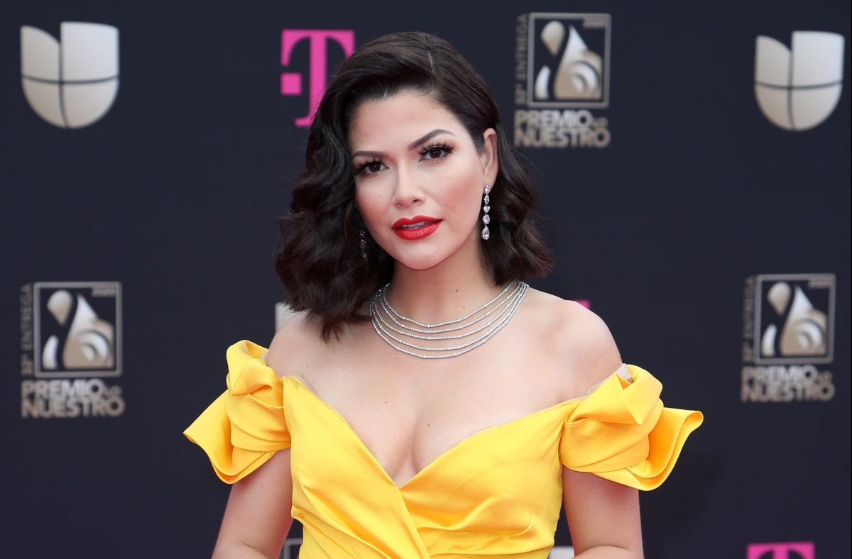 Ana Patricia Gámez se pone la faja para salir al aire en 'Enamorándonos'