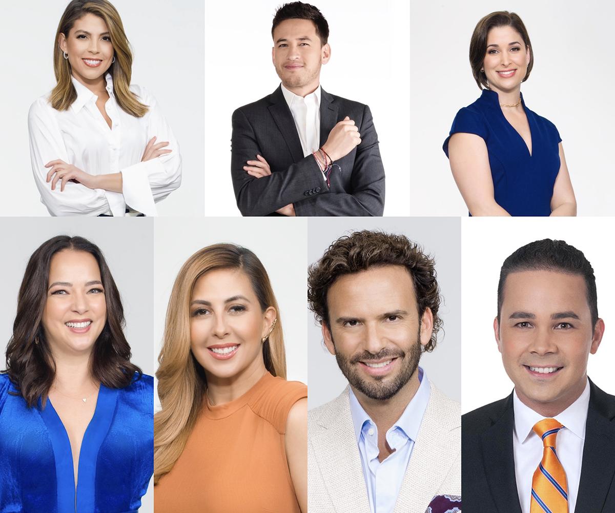 Los presentadores de 'hoy Día'