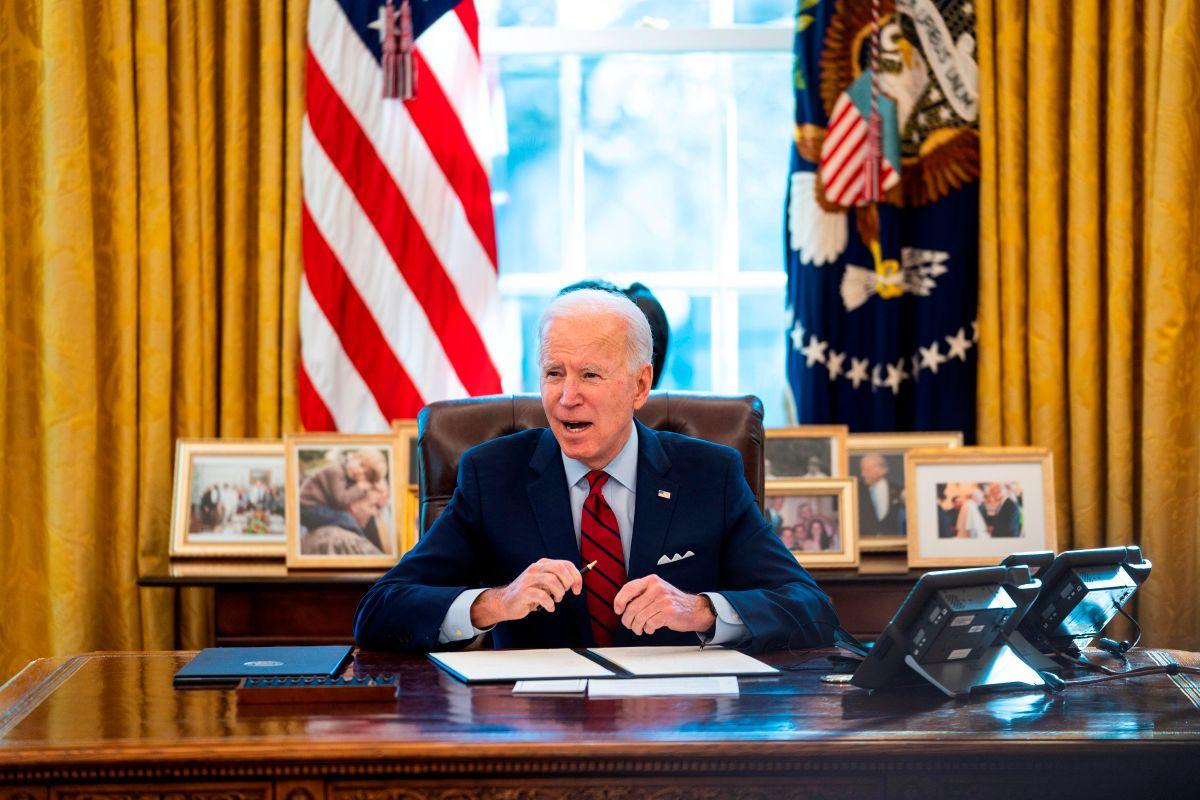 Biden ha revertido políticas de Trump.