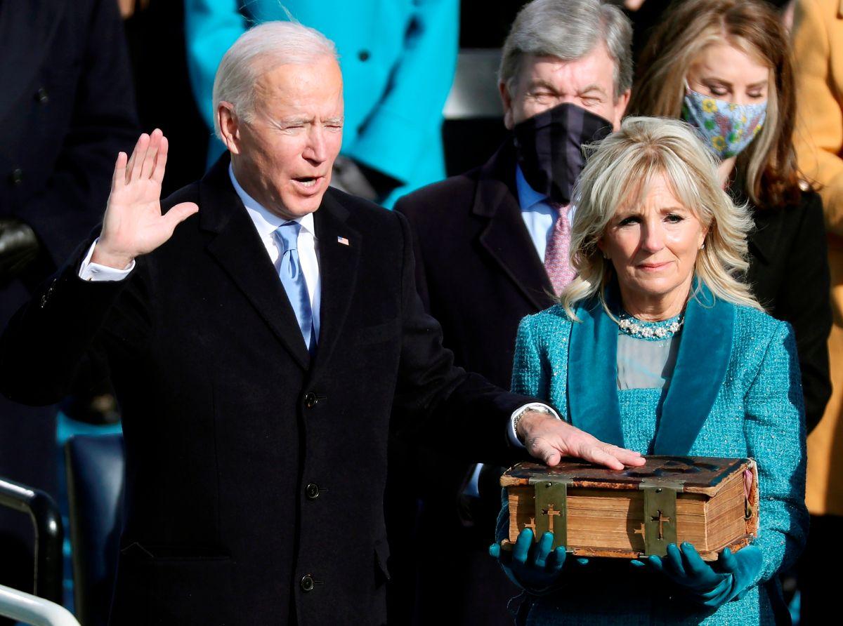 Las fotos más impactantes de la toma de posesión de Joe Biden como presidente de Estados Unidos