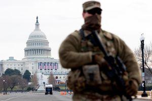 Soldados de la Guardia Nacional ponen fin a su presencia en el Capitolio de EE.UU.