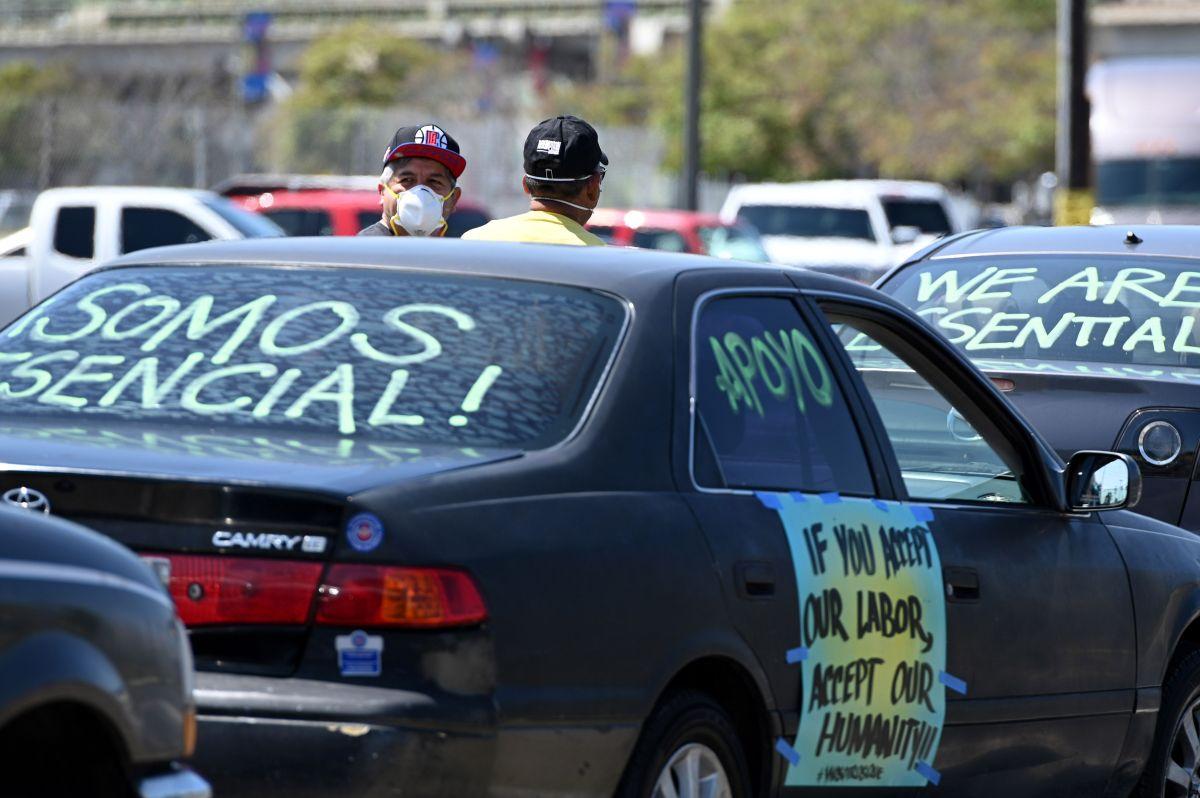 Enviarán miles de cartas a la Casa Blanca y al Congreso pidiendo la legalización de los trabajadores esenciales indocumentados