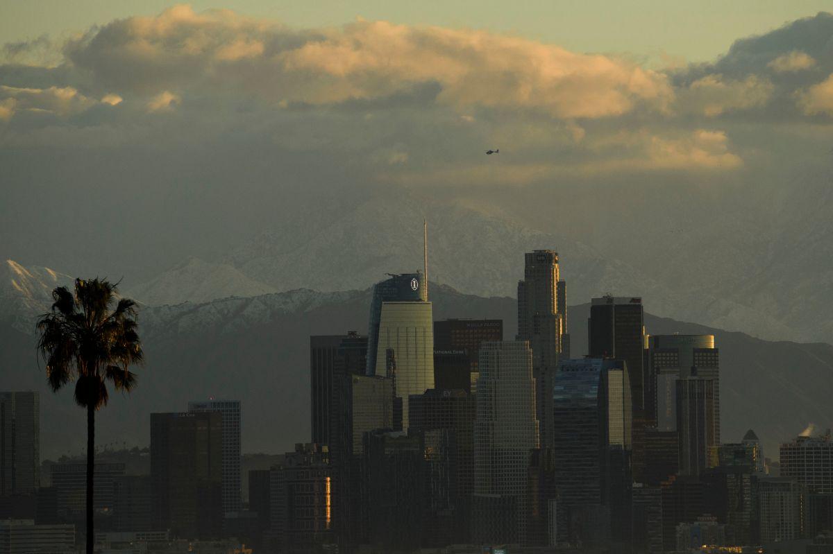 Llega el río atmosférico a California: algunas zonas corren peligro ante exceso de lluvia y nieve