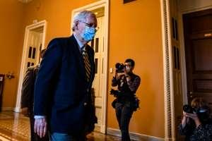 Líder de la minoría republicana en el Senado abre la puerta a repartir el poder con demócratas