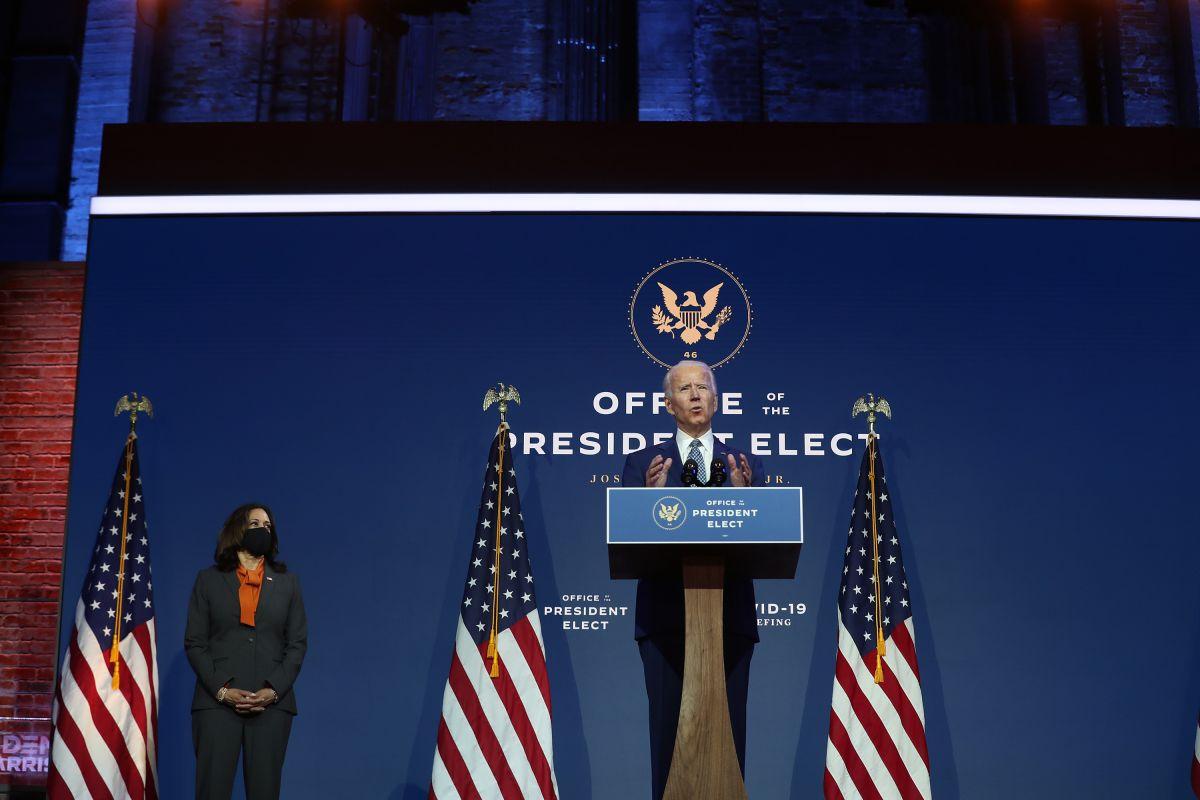 Biden enviará reforma para permitir la ciudadanía a indocumentados el primer día de su gobierno