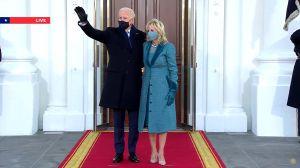 Video: Biden llega a la Casa Blanca como presidente 46 de EE.UU.