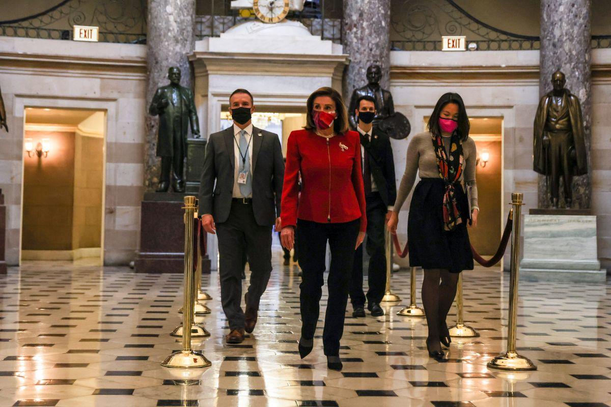 La Cámara de Representantes envía al Senado artículo de juicio político contra Trump